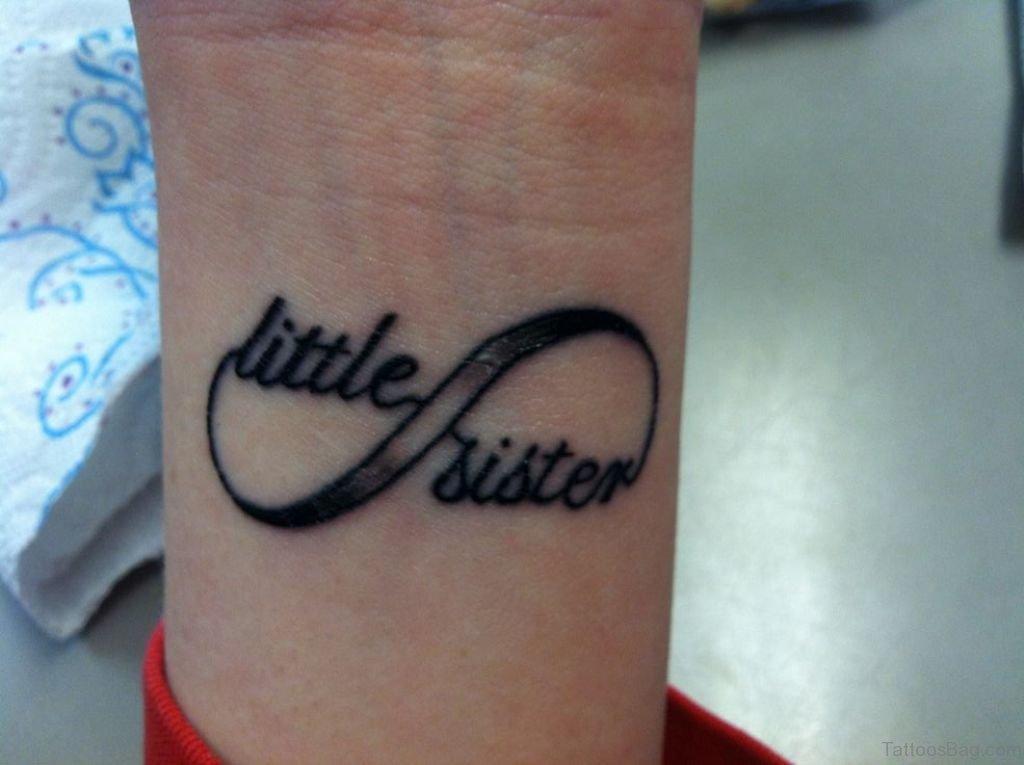 25 Splendid Sister Tattoos On Wrist