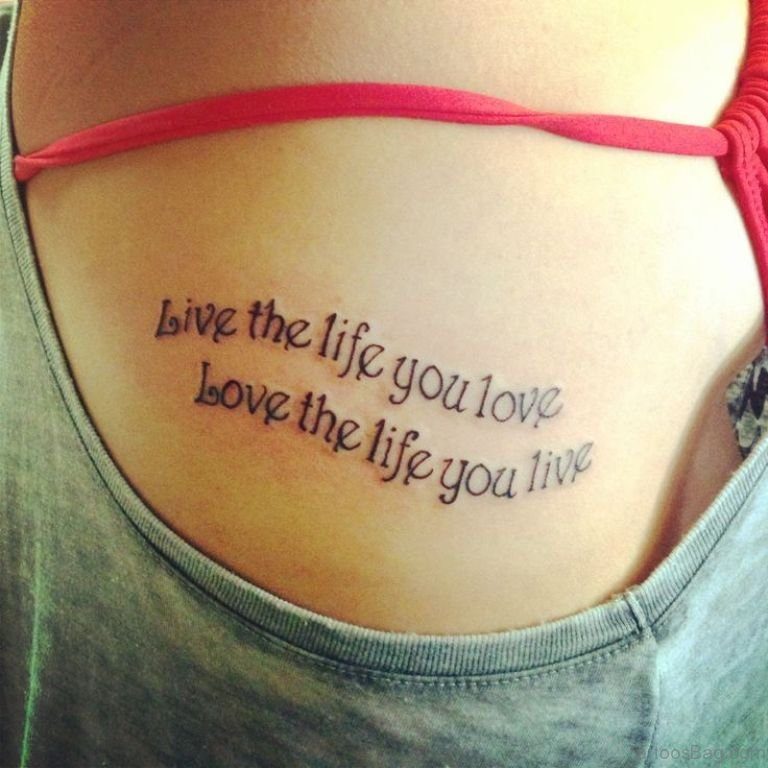 Beauty quotes tattoo ideas