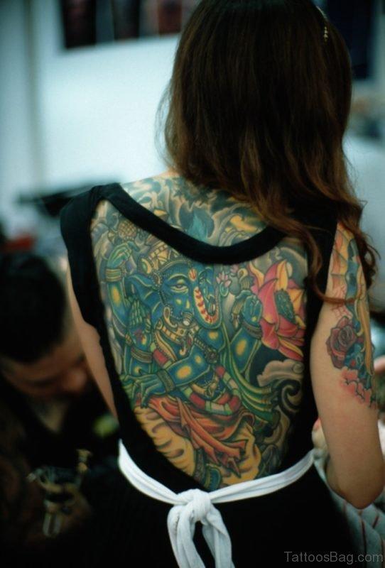 Lord Ganesha Tattoo Design