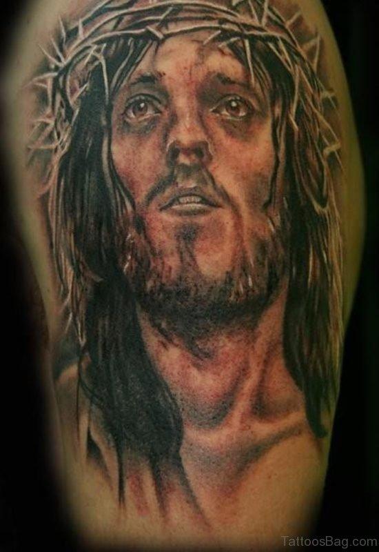 Lord Jesus Tattoo
