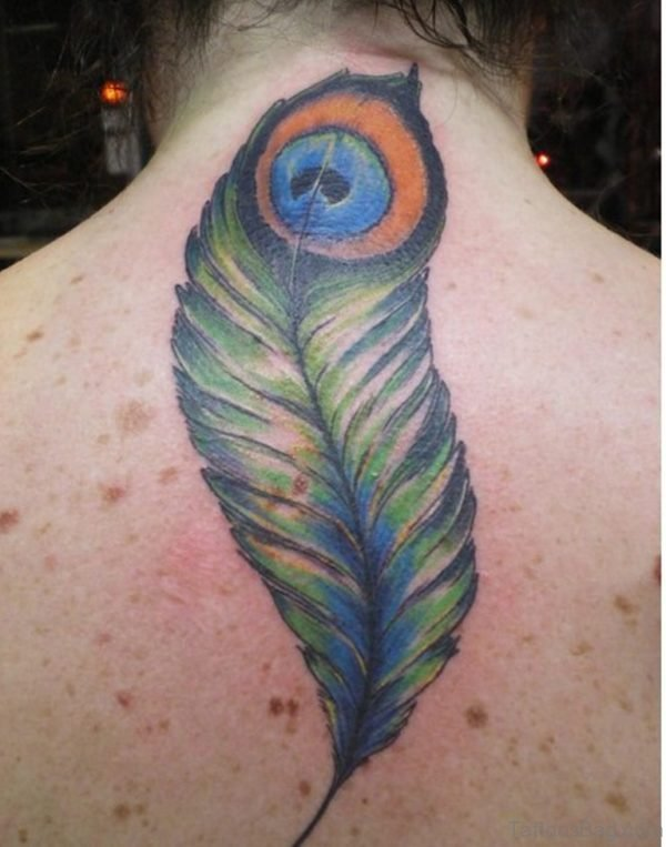Lovable Feather Tattoo