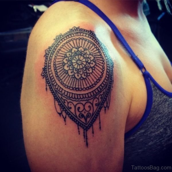 Lovable Mandala Tattoo