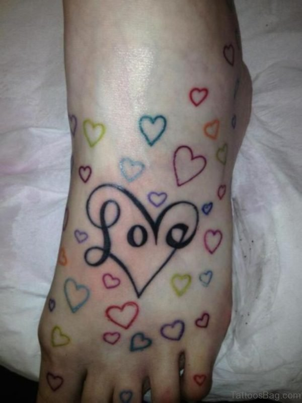 Love And Heart Tattoo
