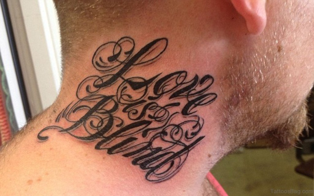 28 lovable tattoos on neck