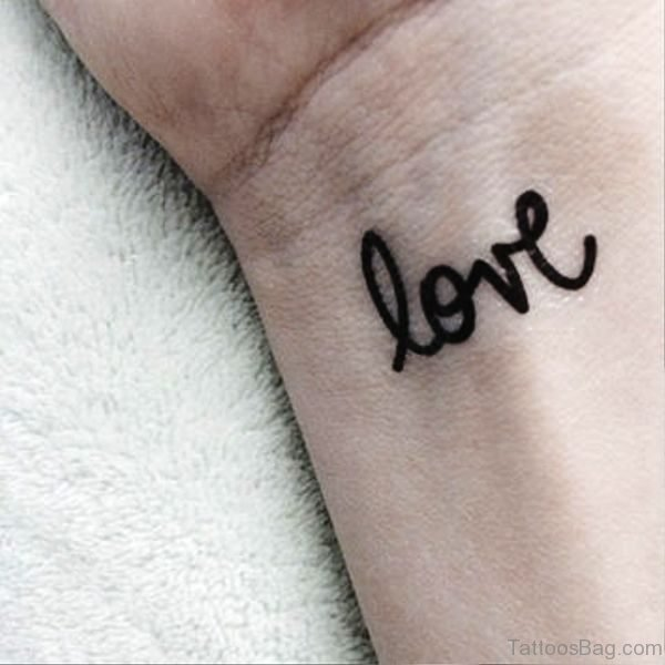 Love Tattoo Design