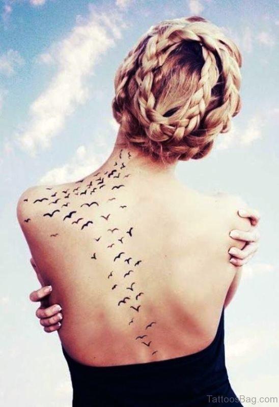 Lovely Birds Tattoo Design