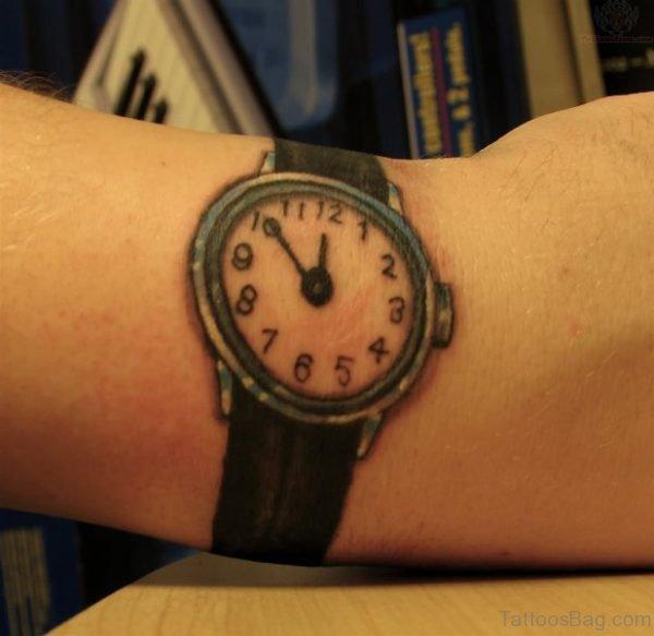 Lovely Clock Tattoo