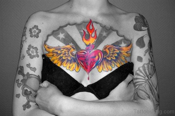 Lovely Heart Tattoo