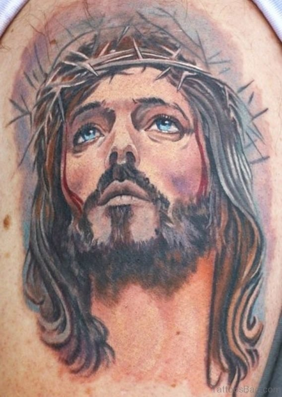 Lovely Jesus Tattoo