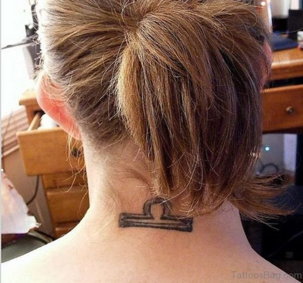 Lovely Libra Tattoo