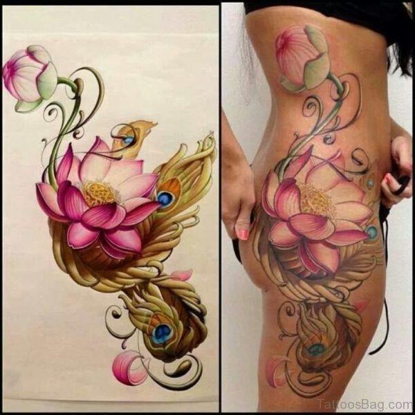Lovely Lotus Tattoo