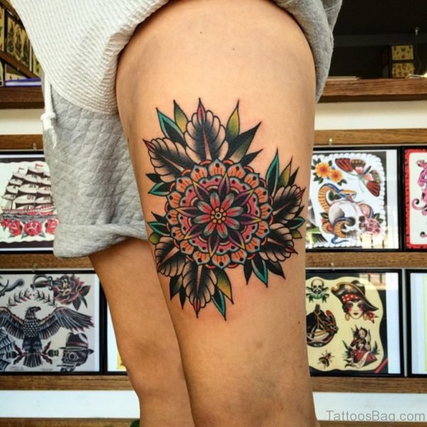 Lovely Mandala Tattoo Design