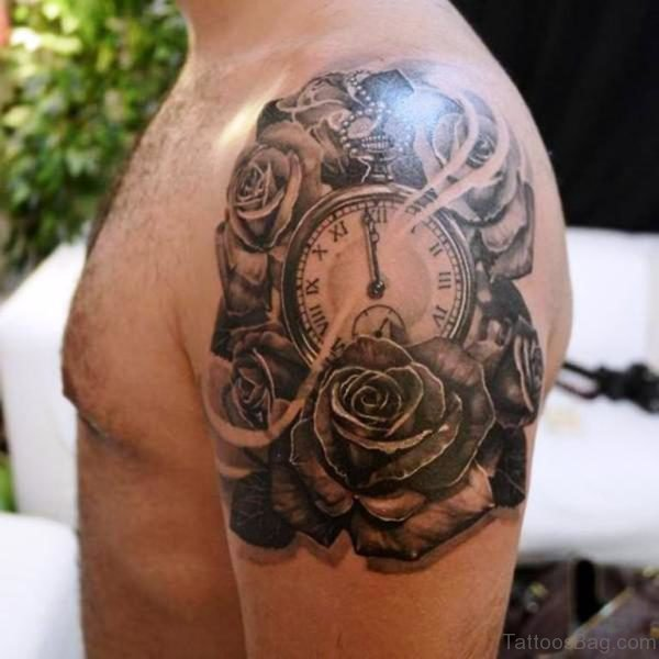 Lovely Realistic Designer Tattoo