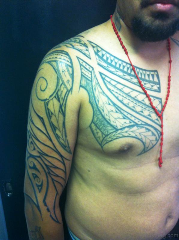 Lovely Shoulder Tattoo