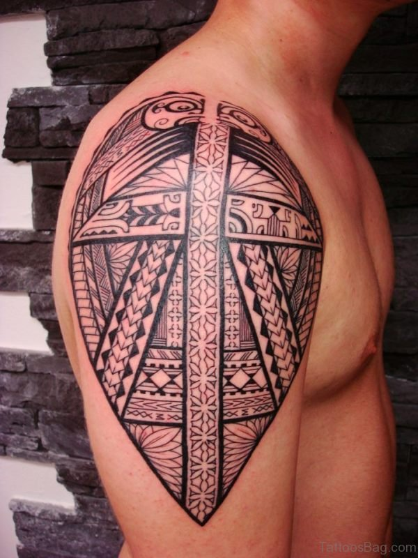 Lovely Trial Tattoo Design