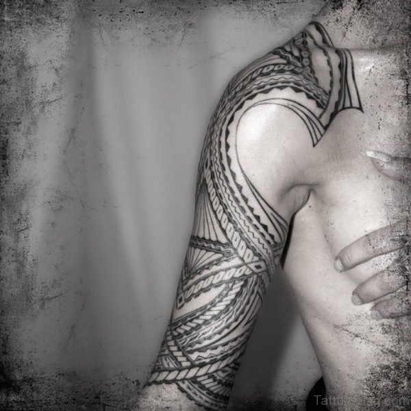 Machine Desing Samoan Tattoo