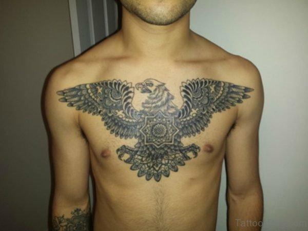 Mandala Eagle And Wings Tattoo
