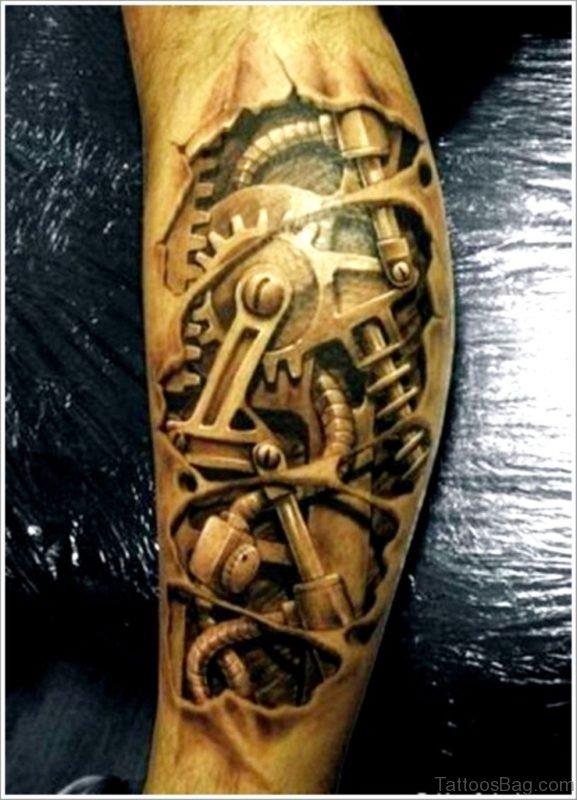 Magnificant Biomechanical Tattoo
