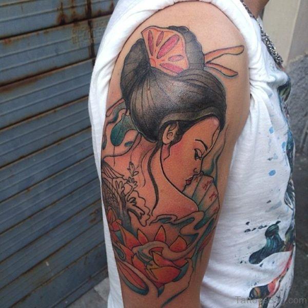 Magnificant Geisha Tattoo