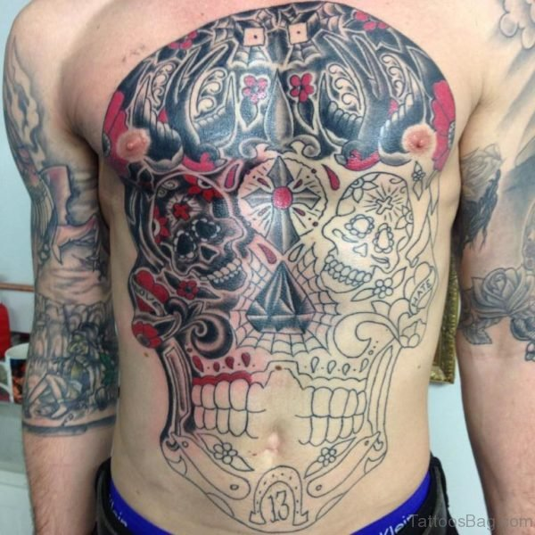Magnificent Skull Tattoo