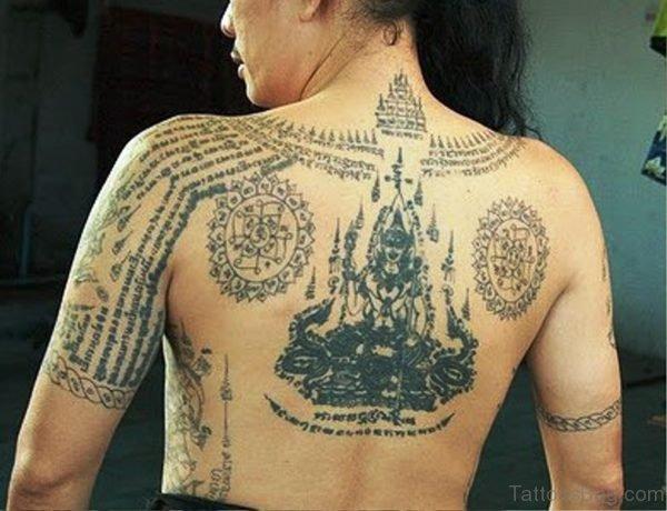 Magnificent Buddha Tattoo Design 1