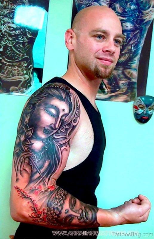Magnificent Buddha Tattoo Full Sleeve