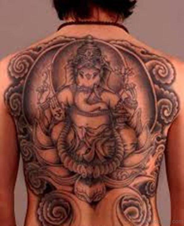 Magnificent Ganesha Tattoo