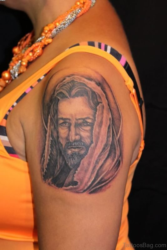 Magnificent Jesus Tattoo