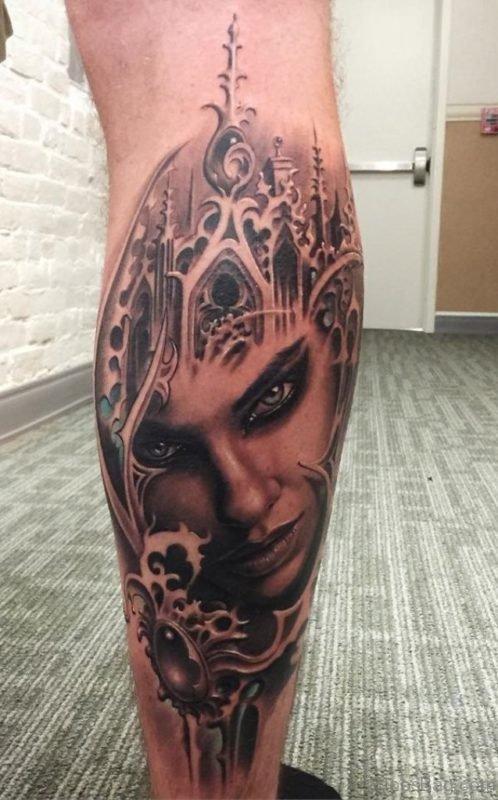 Magnificent Portrait Tattoo
