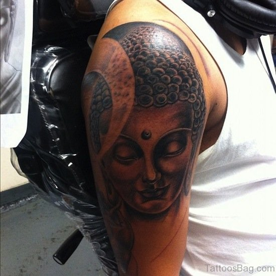Mahatma Buddha Tattoo Design