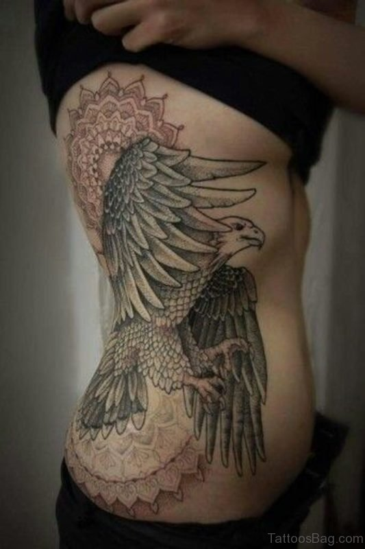 Mandala And Eagle Tattoo
