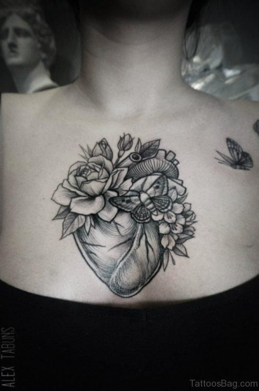 Mandala Heart Tattoo