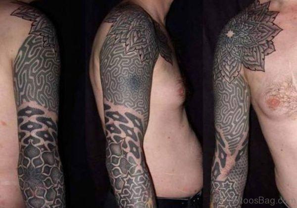 Mandala Maori Tribal Tattoo