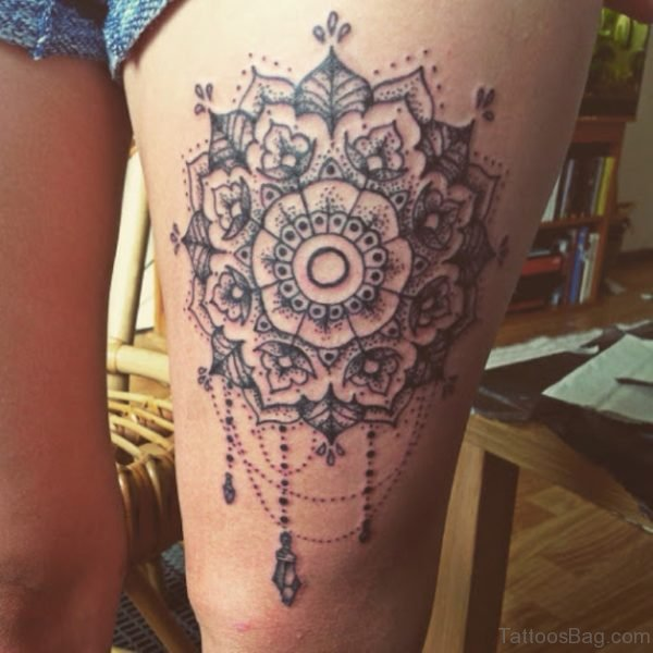 Mandala Tattoo For College Girls