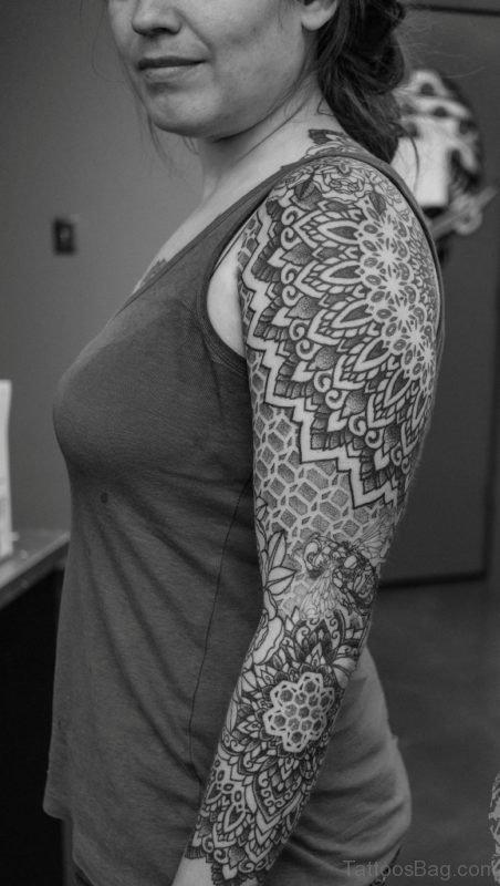Mandala Tattoo Fro Girls