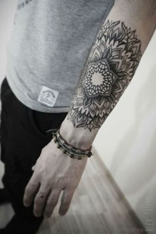 Mandala Tattoo On Arm