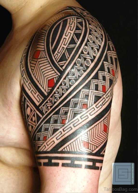 Maori Shoulder Tattoo