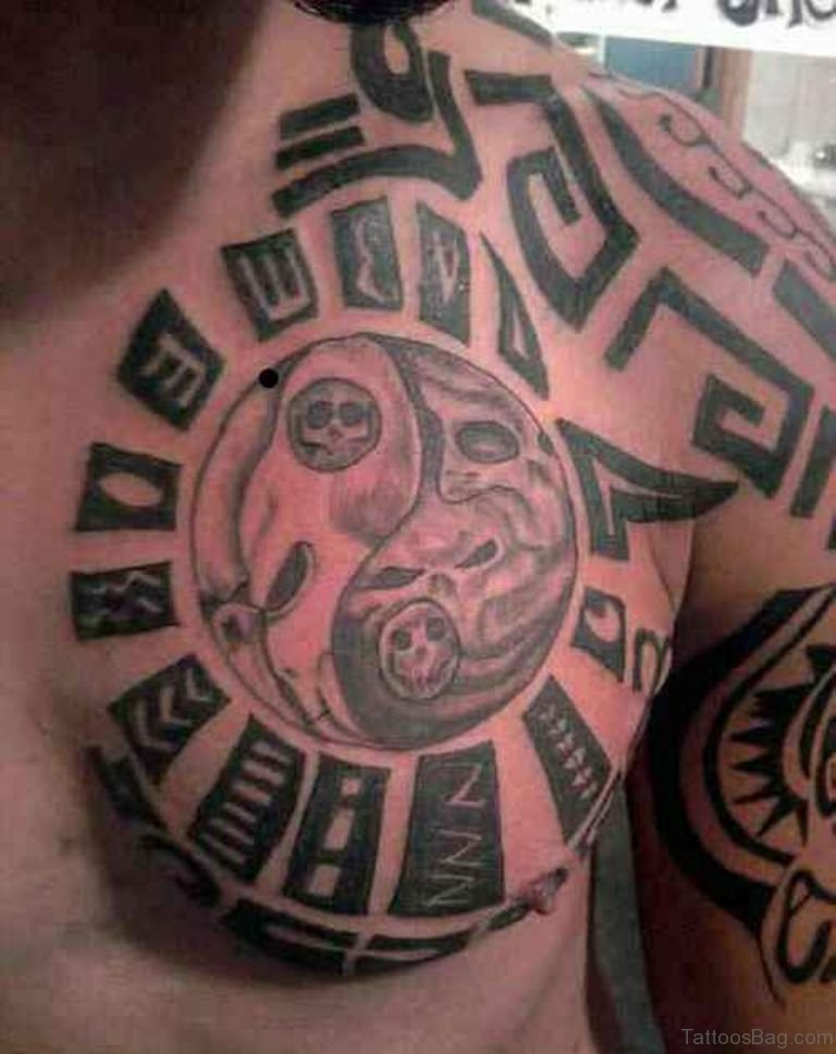 Small Maori Tattoo Designs: 59 Great Tribal Tattoos On Chest