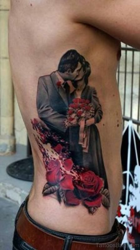 Married Couple Portrait Tattoo
