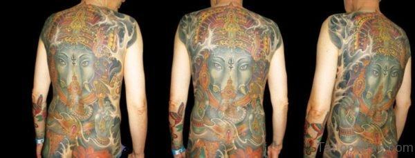Marvelous Ganesha Tattoo