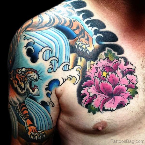 Marvelous Tiger Tattoo Design