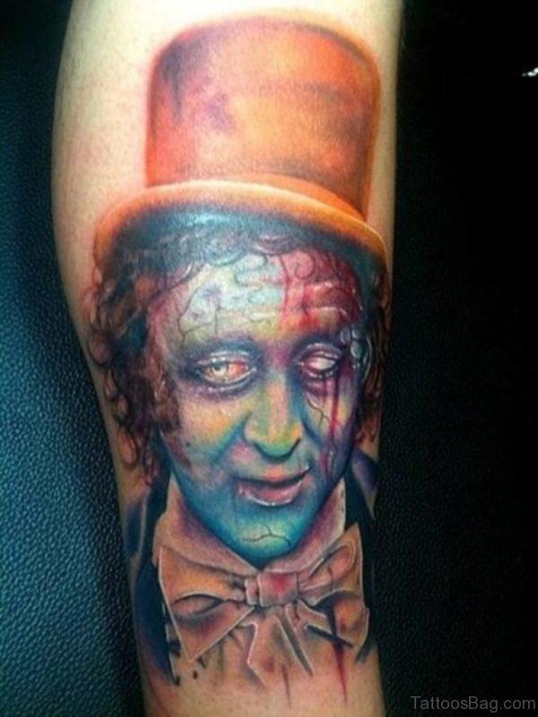 Massive Zombie Tattoo