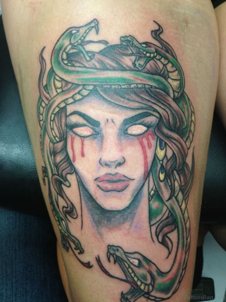 40 best medusa tattoos for thigh