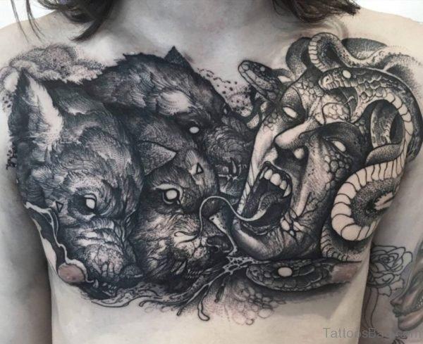Medusa Head Tattoo