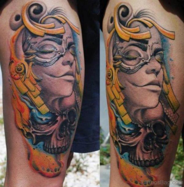 Medusa Head Tattoo Design