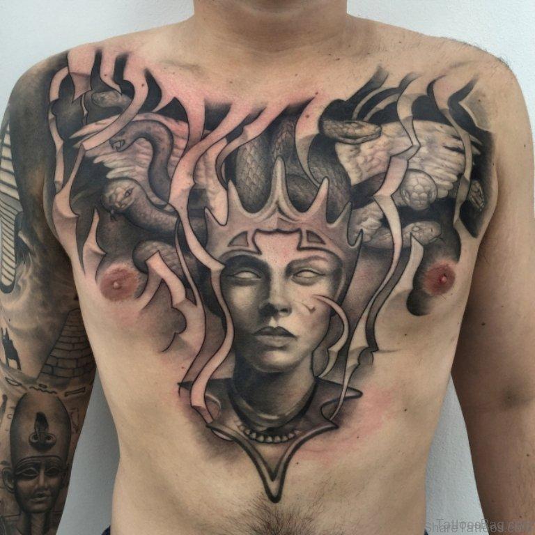 40 Marvelous Medusa Tattoos For Chest