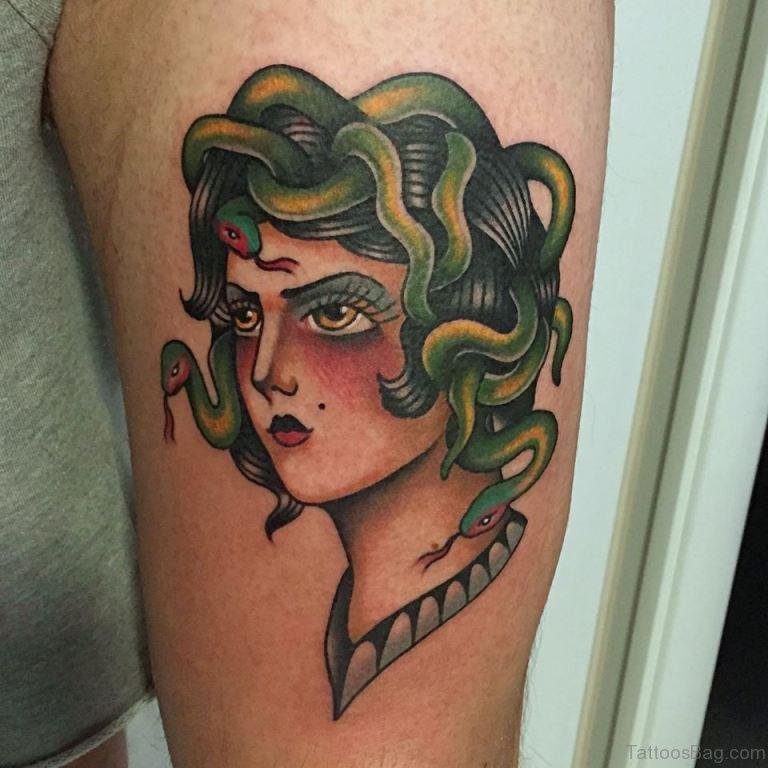 Medusa Illustration Tattoo: 80 Elegant Medusa Tattoos On Shoulder