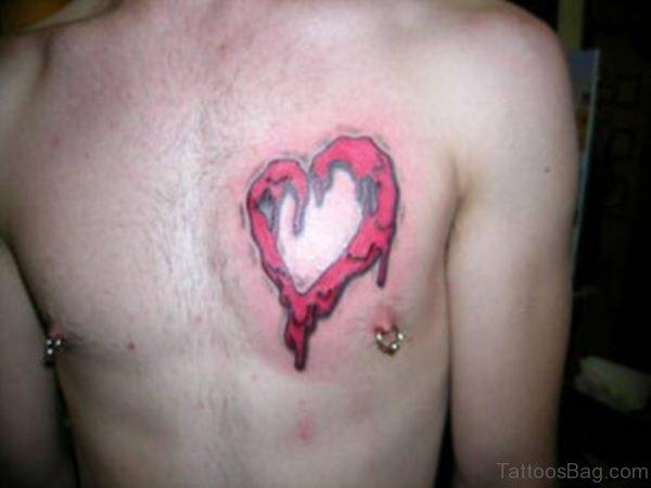 Melting Heart Tattoo