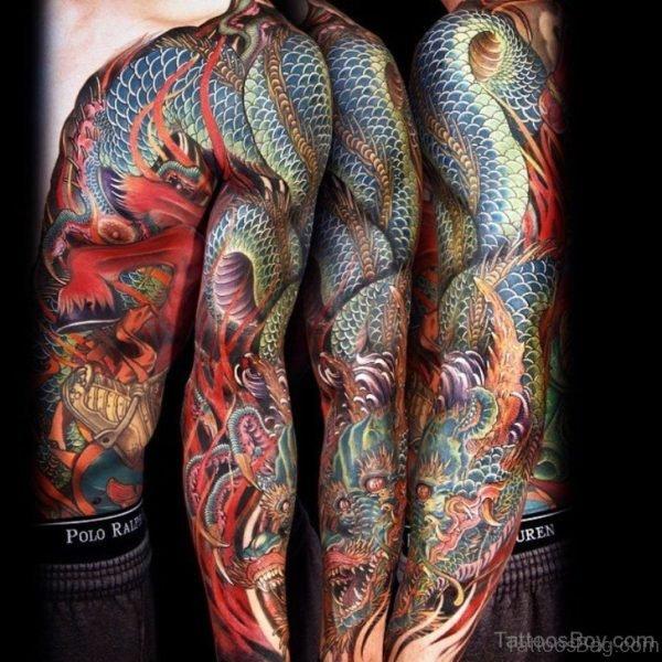 Mind Blowing Dragon Tattoo