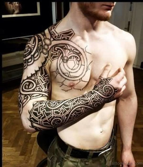 Mind Blowing Full Sleeve Tattoo For Men